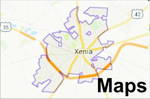 Xenia/Greene County Maps